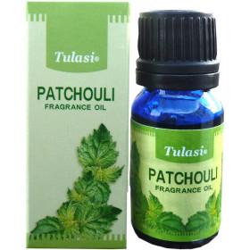 Flacon d'huile parfumée Tulasi patchouli