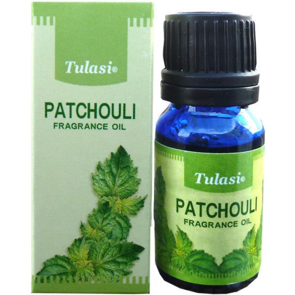 Patchouli flacon d'huile parfumée Tulasi