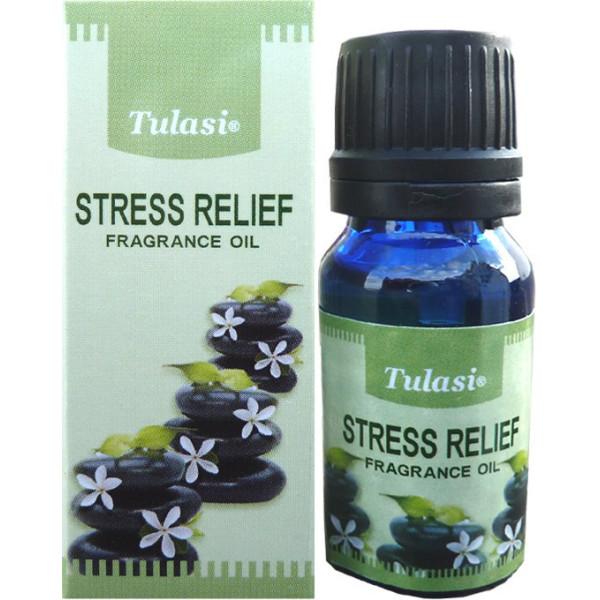 Flacon d'huile parfumée Tulasi stress relief