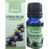 Eine Flasche Tulasi-Öl zum Stressabbau