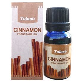 Flacon d'huile parfumée Tulasi cannelle