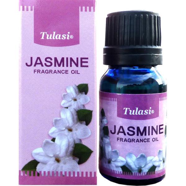 Flacon d'huile parfumée Tulasi jasmin
