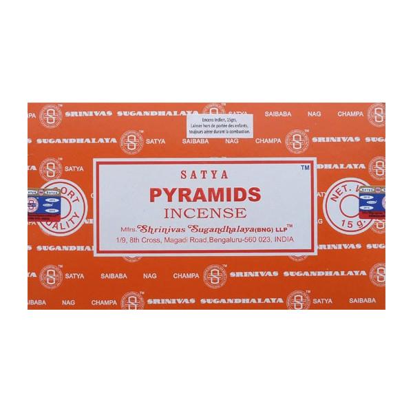 Encens batons satya pyramids 15 g