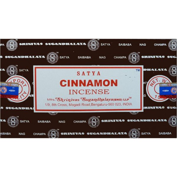 Encens batons satya cannelle 15 g
