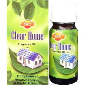 Duftölflasche reinigt Haus