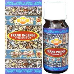 Flacon d'huile parfumée franck incense