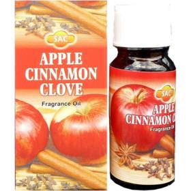 Flacon d'huile parfumée pomme, cannelle, girofle