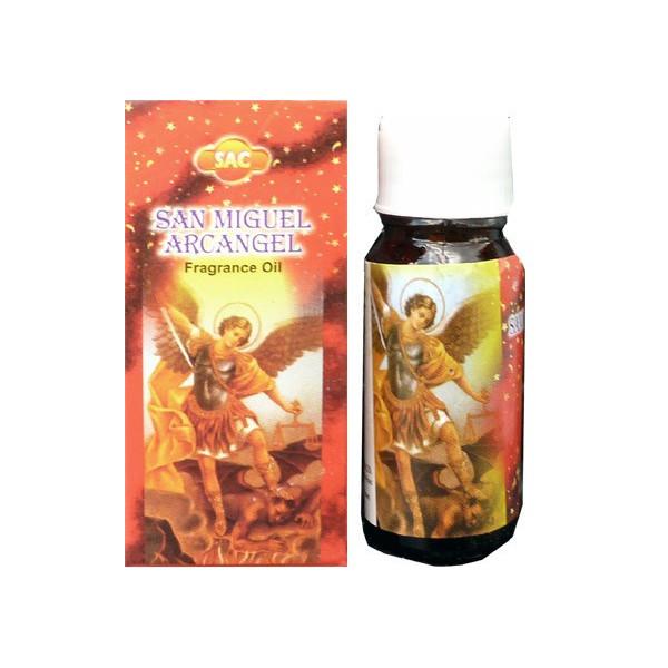 Flacon d'huile parfumée St Michel