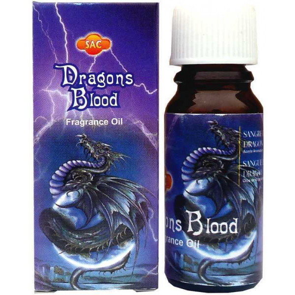 Flacon d'huile parfumée sang de dragon