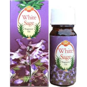 Flacon d'huile parfumée sauge blanche