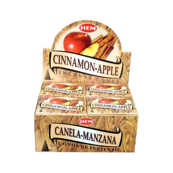 Encens cônes hem pomme cannelle