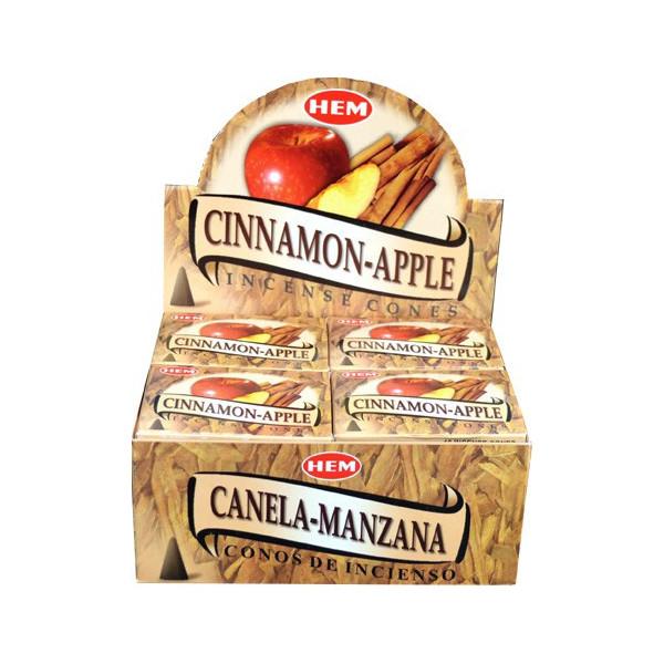 Weihrauchkegel Saum Apfel Zimt
