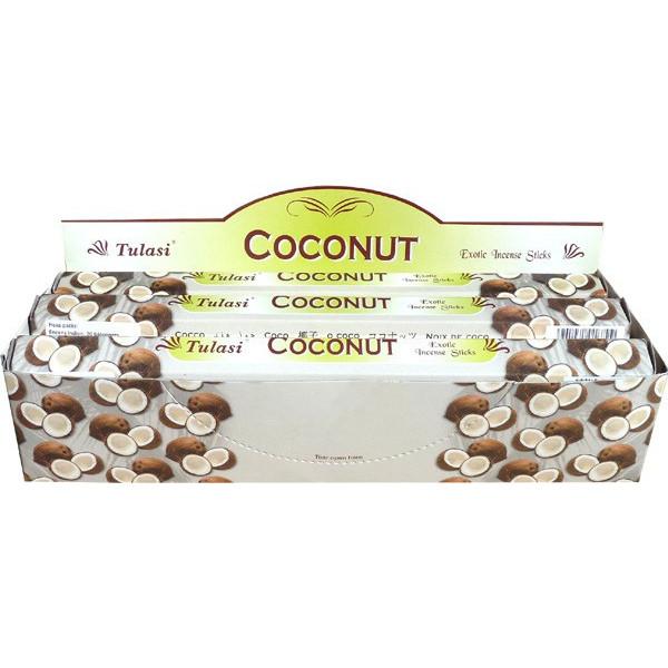 Boite d'encens Tulasi noix de coco 20 gr