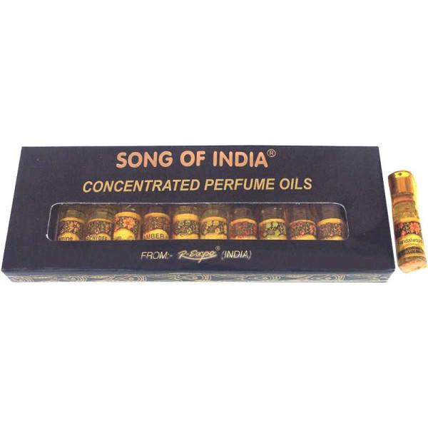 Pack de 12 huiles parfumées patchouli