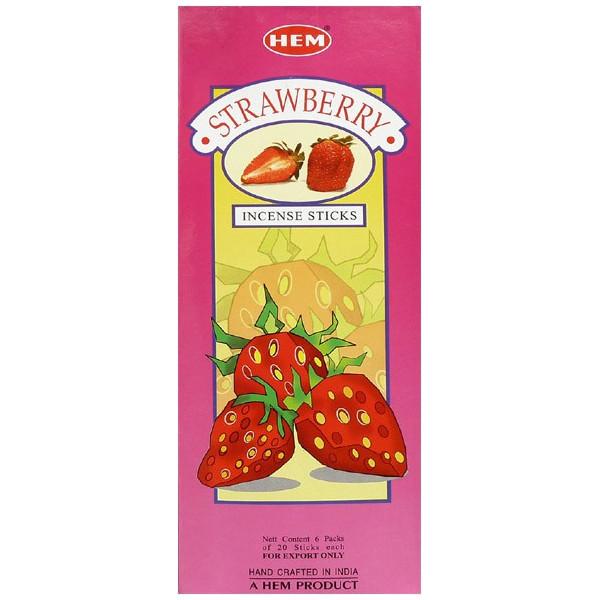 Weihrauch Saum Erdbeer Hexa 20 g