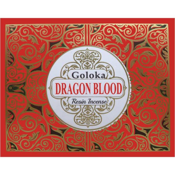 Encens resine goloka sang de dragon