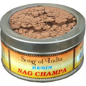 Encens résine nag champa song of india