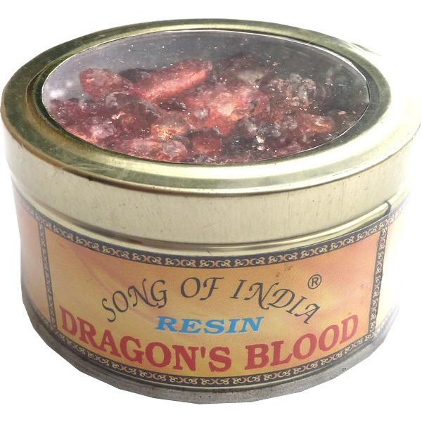 Encens resine sang de dragon song of india