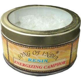 Encens resine camphre énergisant song of india