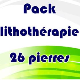 Pack lithothérapie