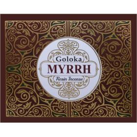Encens resine goloka myrrh