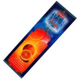Boite d'encens orange-vanille