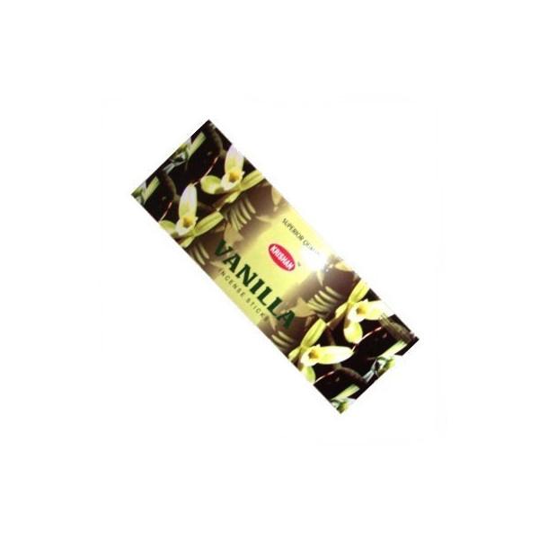Pack de 25 boites d'encens krishan vanille