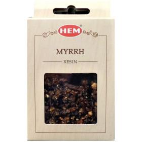 Encens resine Hem myrrh