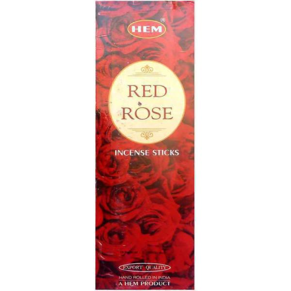 Encens hem rose rouge 20 gr