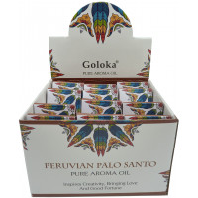 Flacon d'huile parfumée Goloka palo santo