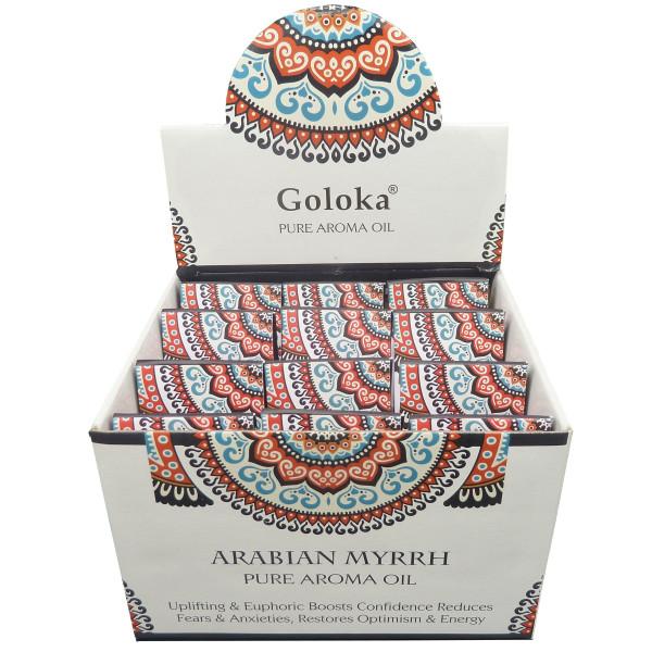Flacon d'huile parfumée Goloka myrrh
