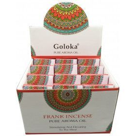 Flacon d'huile parfumée Goloka frank incensse