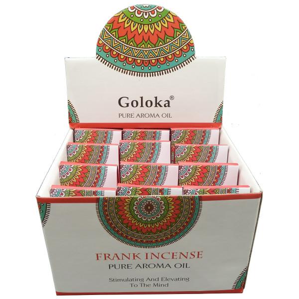 Flacon d'huile parfumée Goloka frank incense