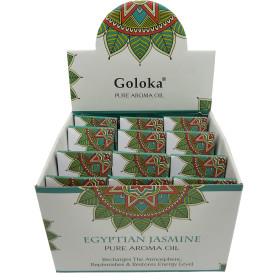 Flacon d'huile parfumée Goloka jasmin