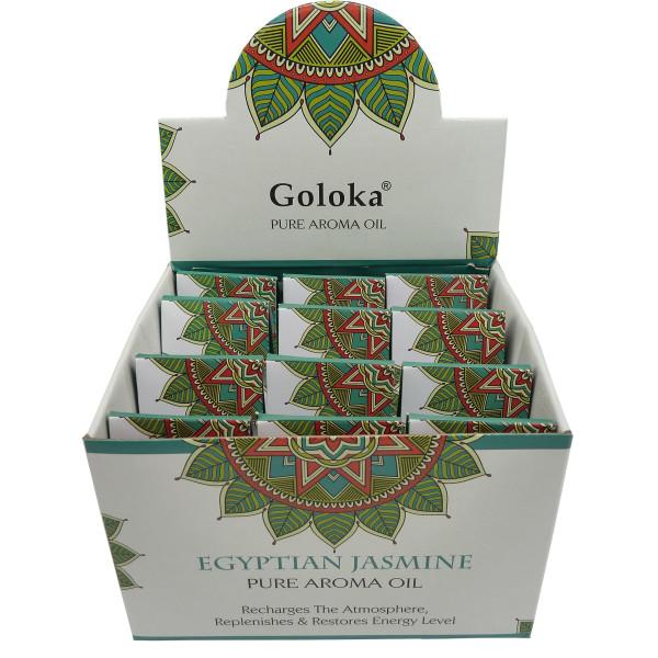 Flasche duftendes Öl Goloka Jasmin