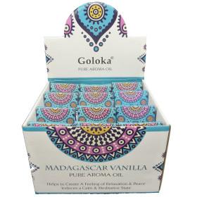 Flacon d'huile parfumée Goloka vanille