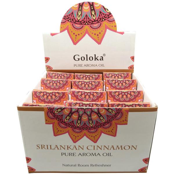 Flacon d'huile parfumée Goloka cannelle