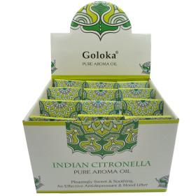Flacon d'huile parfumée Goloka citronnelle