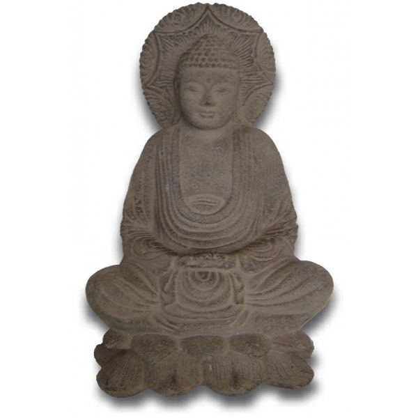 Steinbuddha-Statue 25 cm