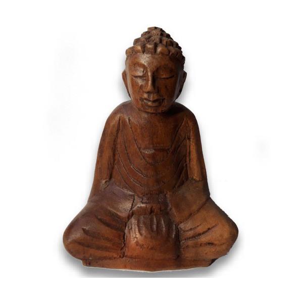 Buddha aus Suarholz 10 cm
