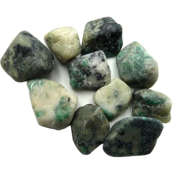 Smaragdkiesel 4 bis 6 cm