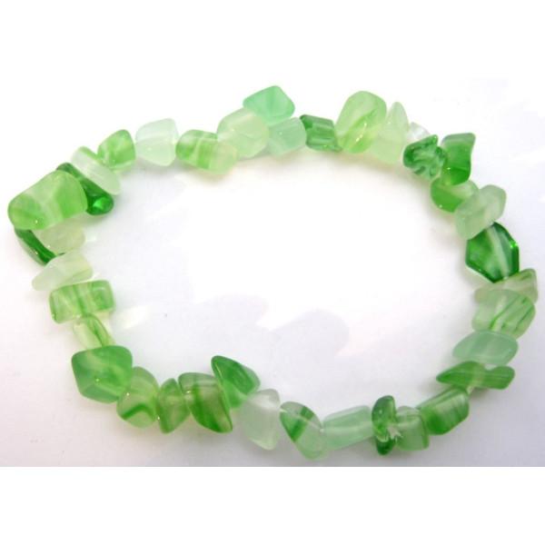 Grünes Aventurin-Chip-Armband