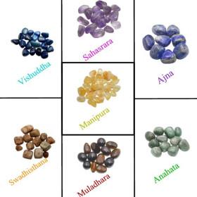 pierres roulées 7 chakras