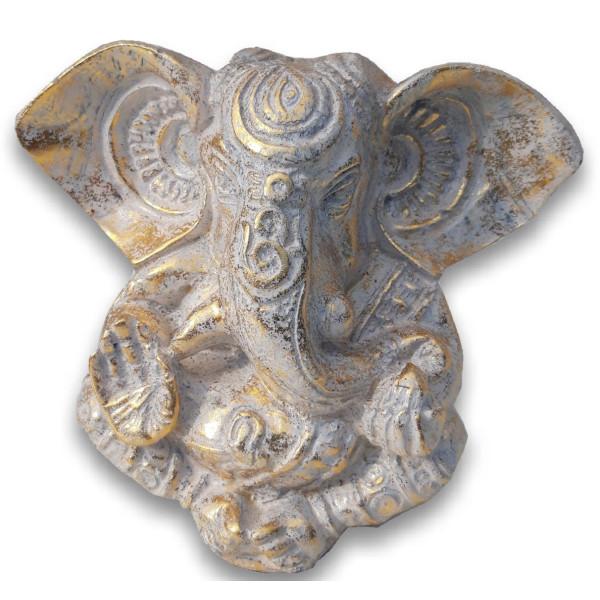 goldweißes Ganesh