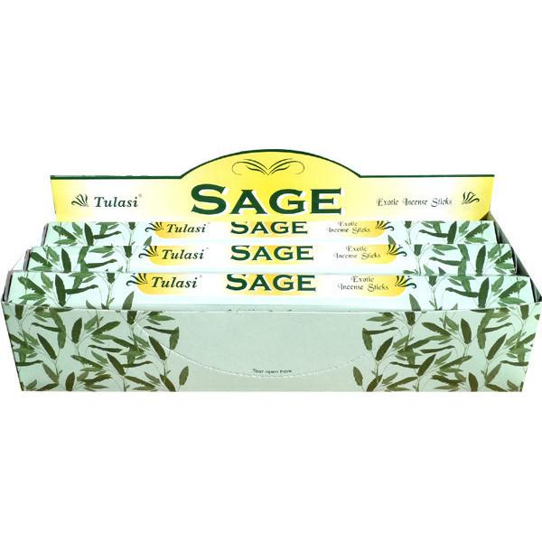 Boite d'encens tulasi sauge (sage) 20 gr