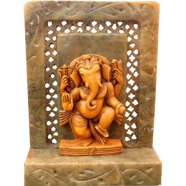 Altar Laddu Ganesh Stein 10 cm