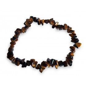 bracelet oeil de tigre chips