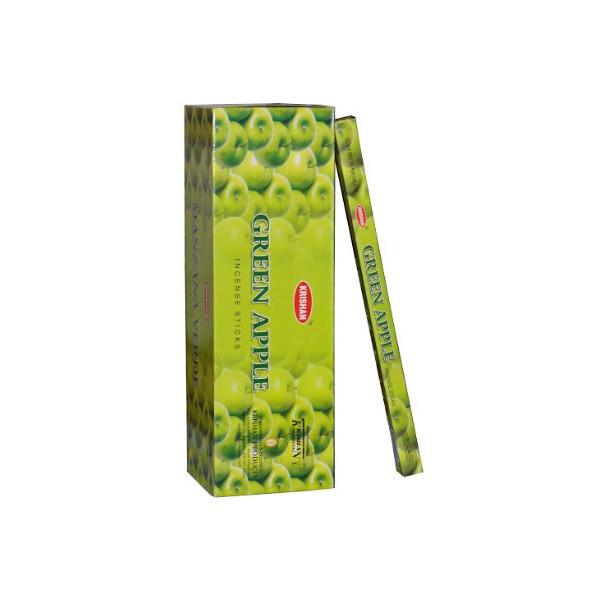 Schachtel Weihrauch krishan grüner Apfel