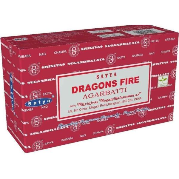 Räucherstäbchen Satya Drachenfeuer 15 g
