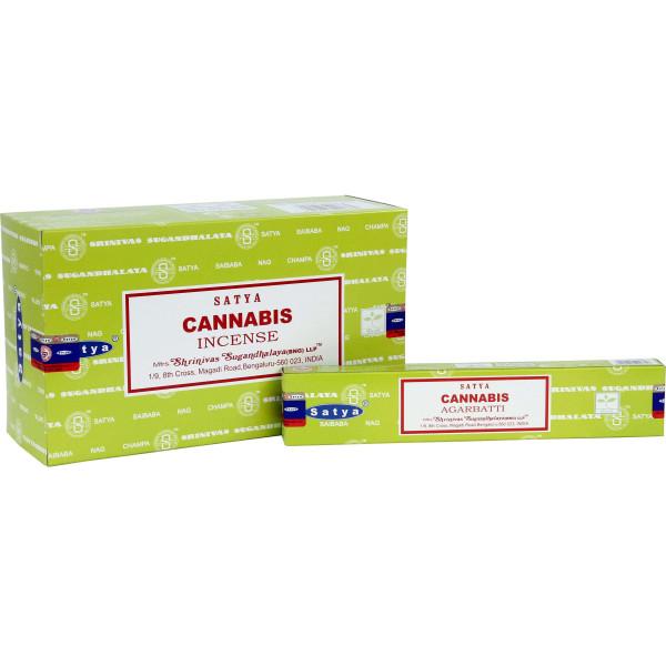 Encens bâtons Satya cannabis 15 g